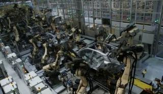 Výroba modelu Hyundai i10.