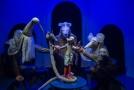Loutkové představení Hvězdný posel 13. ledna 2020 v libereckém Naivním divadle.