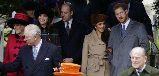 Britská královská rodina.