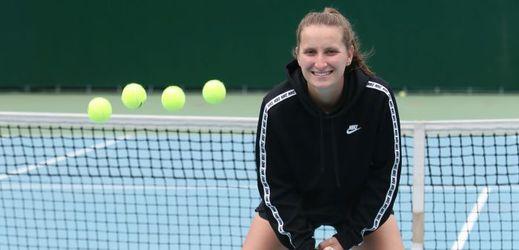 Tenistka Markéta Vondroušová.