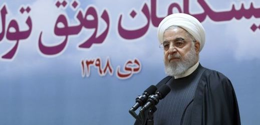 Íránský prezident Hassan Rúhání.