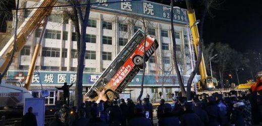 Nehoda ve městě Si-ning na severozápadě Číny.