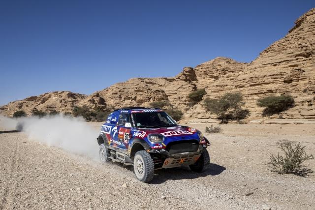 Jakub Przygonski a Timo Gottschalk na Dakaru.
