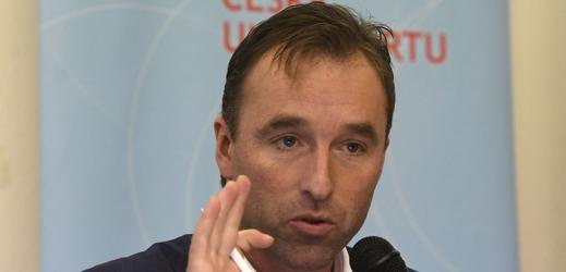 Předseda Národní sportovní agentury (NSA) Milan Hnilička.