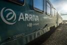 Vlaková souprava společnosti Arriva.