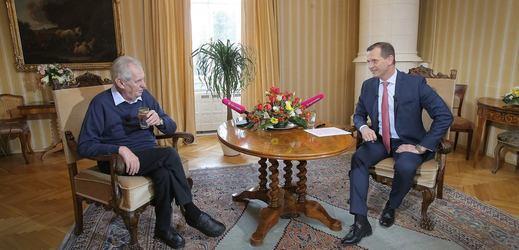 Týden s prezidentem končí na TV Barrandov.