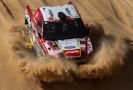 Automobilový jezdec Martin Prokop na Rallye Dakar.