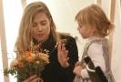 Mezi jednoznačně nejkrásnější ženy patřila Emma Smetana se svou dcerou.