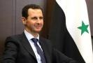 Prezident Sýrie Bašár Asad.