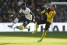 Serge Aurier z Tottenhamu v utkání proti Watfordu.