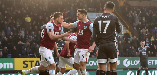 Leicester překvapivě padl v Burnley