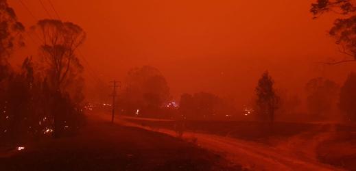 Požáry v Austrálii.