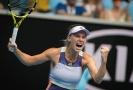 Dánská tenistka Caroline Wozniacká se na Australian Open loučí s kariérou, postup do třetího kola jí však zhořkl.
