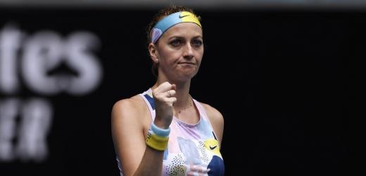 Kvitová přehrála Alexandrovovou a je v osmifinále