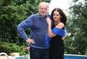 Luděk Sobota s manželkou Adrienou.