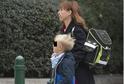 Tatiana Dyková se synem Aloisem.