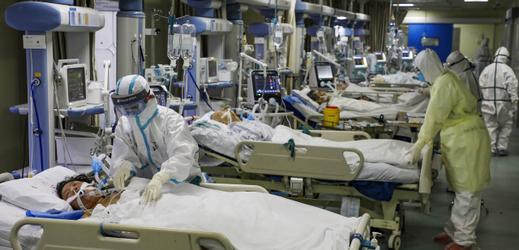 Nemocnice v Číně.