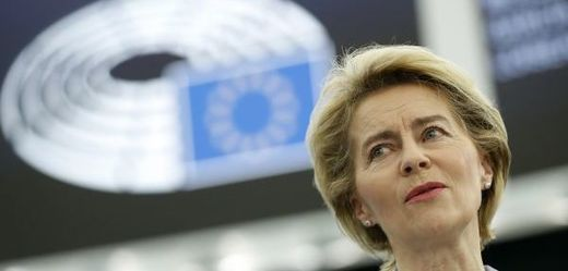 Šéfka Evropské komise (EK) Ursula von der Leyenová.