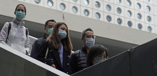Obyvatelé Hongkongu.