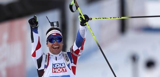 Biatlonista Michal Krčmář toužil jednou jet ve štafetě o medaili.