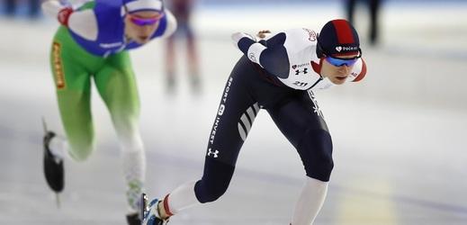 Sáblíková ovládla na MS závod na 3000 metrů a obhájila titul.