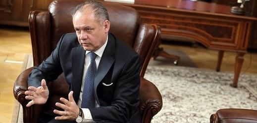 Bývalý prezident Slovenska Andrej Kiska.
