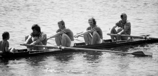 Vladimír Petříček, Otakar Mareček, Karel Neffe, Milan Suchopár a Vladimír Janoš (1976).