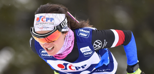 Běžkyně na lyžích Kateřina Razýmová.