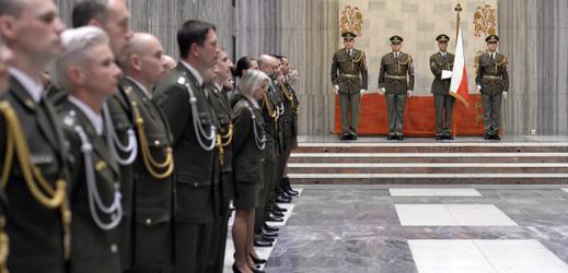 Ceremoniál na Vítkově.