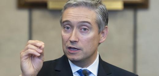 Kanadský ministr zahraničí François-Philippe Champagne.