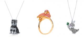 Šperky inspirované světem zvířat.