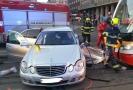 Na I. P. Pavlova došlo k nehodě tramvaje a auta.