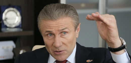 Legendární tyčkař Sergej Bubka.