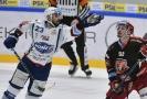 Hokejové utkání Kometa Brno - Hradec Králové.