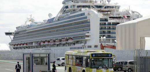 Loď Diamond Princess opustili první cestující.