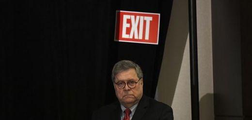 Americký ministr spravedlnosti William Barr.