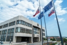 Budova slovenského parlamentu.
