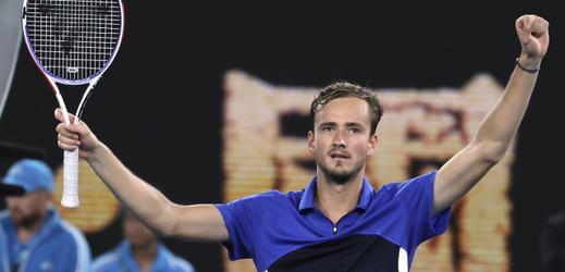 Ruský tenista Daniil Medveděv.