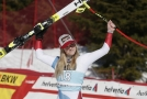 Ledecká byla v Crans Montaně pátá, vyhrála domácí lyžařka.