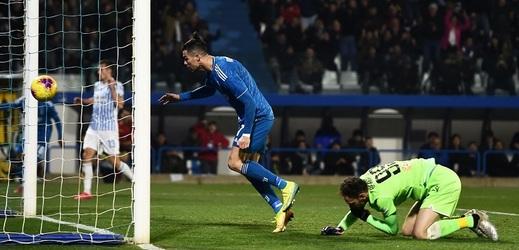 Juventus vyhrál, nezastavitelný Ronaldo vyrovnal rekord.