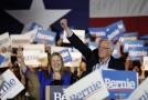 Bernie Sanders a jeho žena Jane.