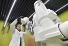 Nová mikroskopická laboratoř v Ústavu molekulární genetiky Akademie věd.