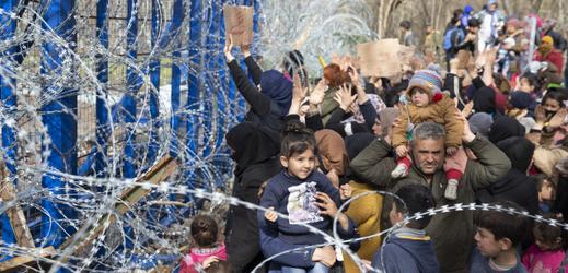 Situace na turecko-řecké hranici.