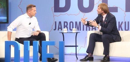 Duel Jaromíra Soukupa s Adamem Vojtěchem