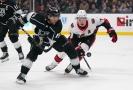 Utkání NHL mezi Los Angeles a Ottawou.
