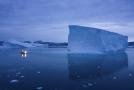 Ledovec v Grónsku.
