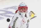 Hokejový brankář Šimon Hrubec.