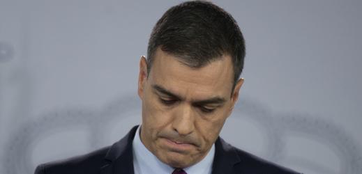 Španělský premiér Pedro Sánchez.