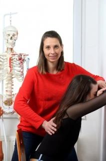 Fyzioterapeutka Iva Bílková.
