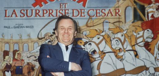 Francouzský kreslíř a ilustrátor Albert Uderzo.